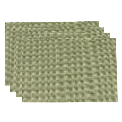 Kitchen Placemats by Pvc Insulation Pad Placemat Green Dining Table Kitchen
