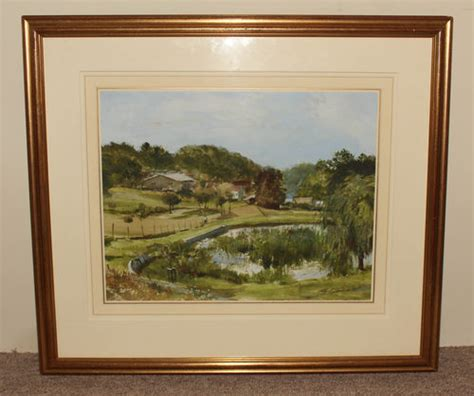 antiques atlas strickland goodall signed watercolour