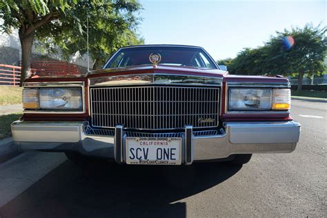 torrance cadillac 1991 cadillac brougham d elegance stock 026 for sale