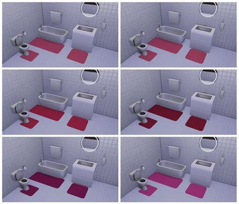 Bathroom Decor Objects Bath Rugs By Deelitefulsimmer At Tsr 187 Sims 4 Updates