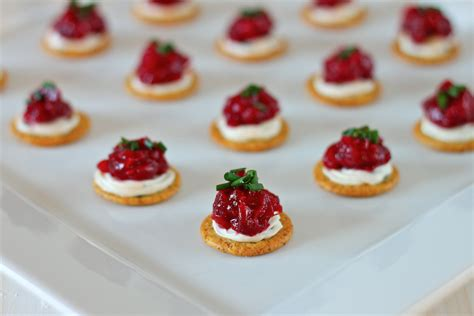 christmas appetizers cranberry dijon and cream cheese appetizer i adore food