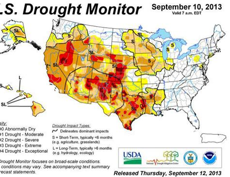 maryland drought map abnormally conditions developing across central
