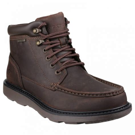 rockport boat builder boot moc toe mens waterproof boots