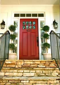 front door color ideas delorme designs favourite reds red door