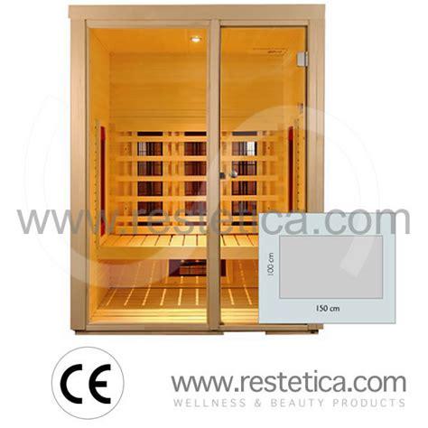 cabine infrarossi promozione cabine sauna ad infrarossi per estetica e benessere