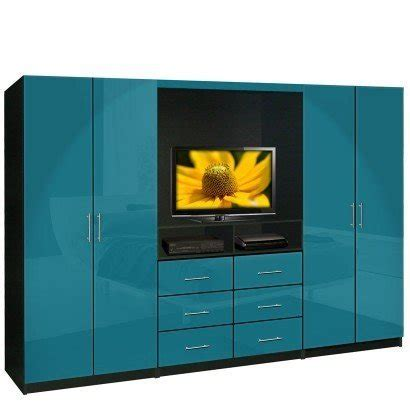 Wall Wardrobe Units by Aventa Tv Wardrobe Wall Unit Free Standing Bedroom Tv