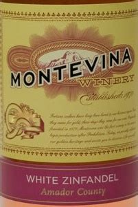 Definition White Zinfandel by 2010 Montevina White Zinfandel Usa California