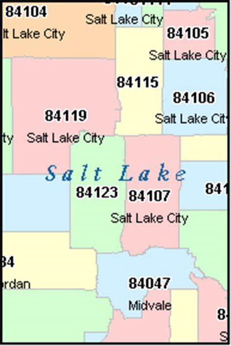 zip code map utah salt lake city salt lake city utah ut zip code map downloads
