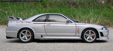 Nissan Skyline GT R /R33/ R TUNE NISMO   silverw/stripes