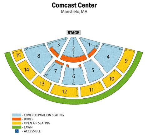 xfinity center seating bowl 2015 seating chart new calendar template site