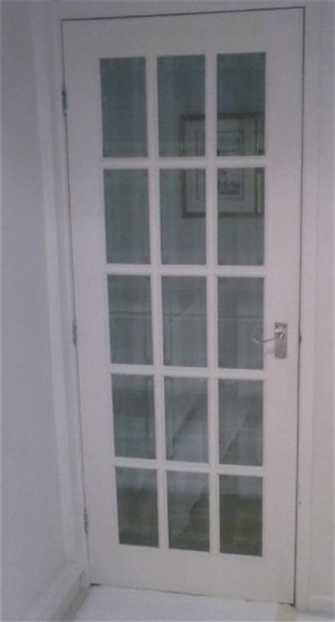 Glass Panel Door by How To Restore Glass Panel Doors