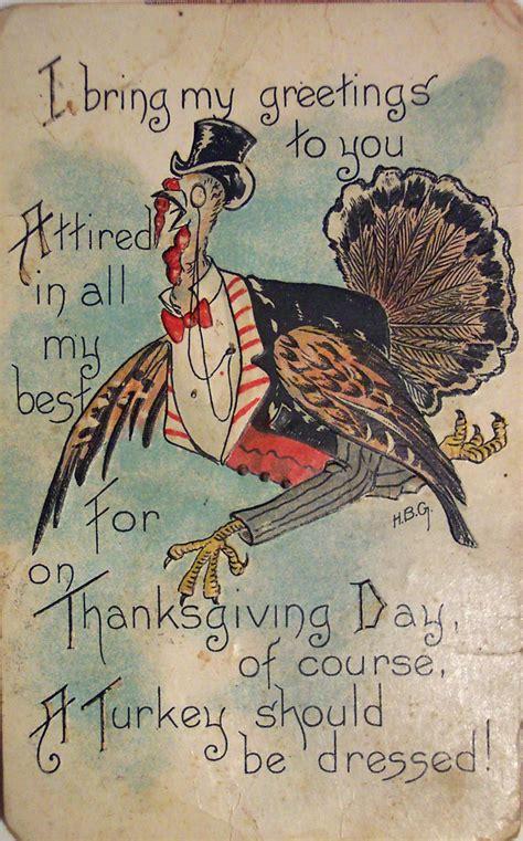 Vintage Gift Card - vintage holiday images cards vintage thanksgiving cards images