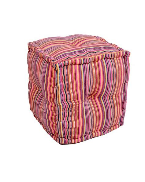 poufs and ottomans footstools and ottomans eclectic ottoman cube pouf