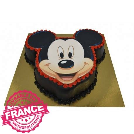 Decoration Gateau Anniversaire Mickey by G 226 Teau D Anniversaire T 234 Te De Mickey 2d G 226 Teau Cr 233 Ation
