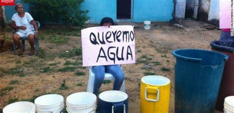 imagenes de venezuela escases escasez de agua y productos de higiene incrementan