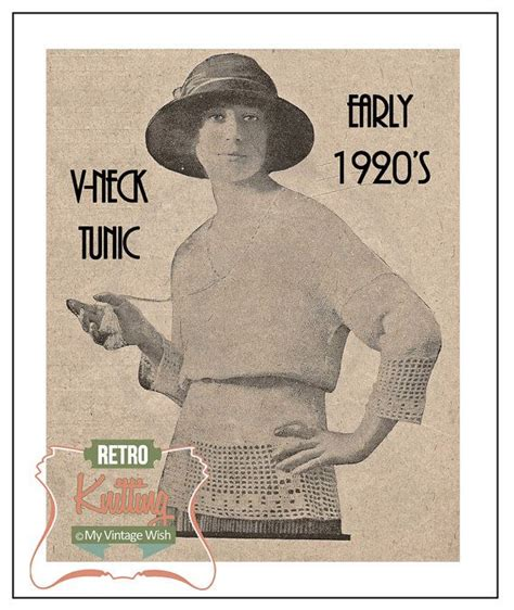 vintage knitting patterns 1920s 1920s sports sweater vintage knitting pattern pdf