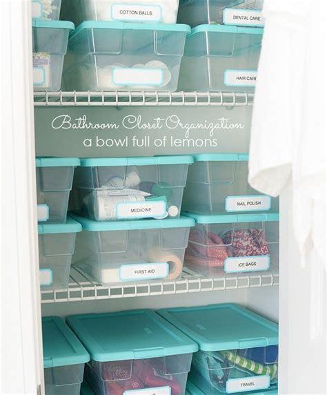 how to organize bathroom closet best 20 organize bathroom closet ideas on pinterest