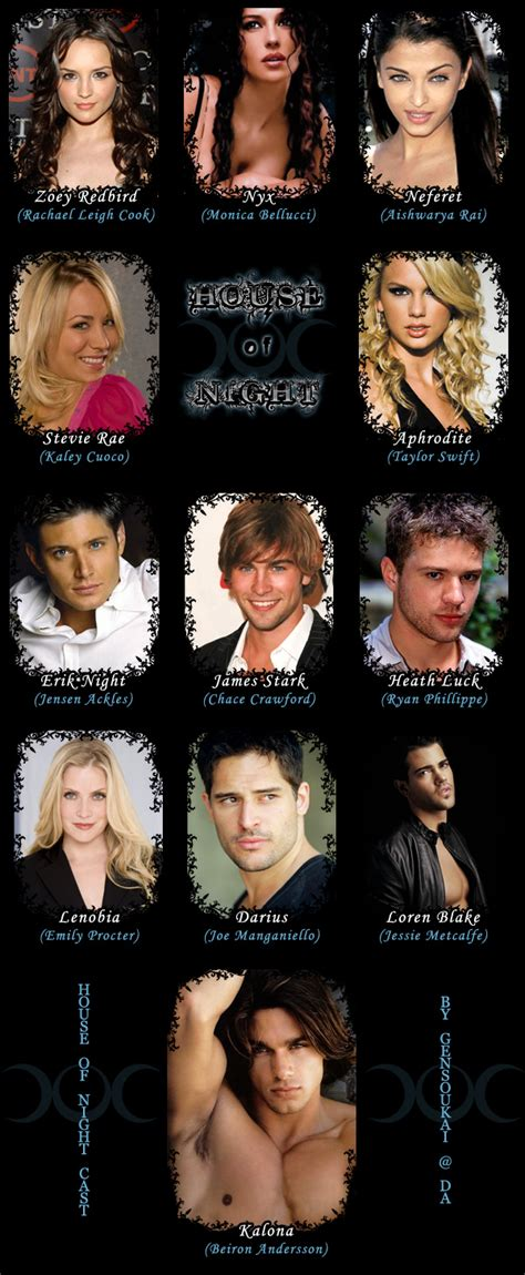 house of night characters house of night cast by gensoumakai on deviantart