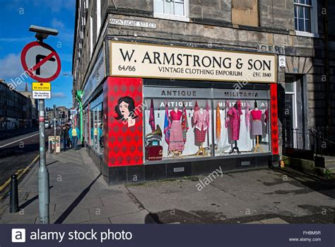 w armstrong vintage clothing emporium on the corner