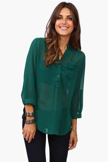 Mira Blouse by Mira Blouse Green The Color Room For