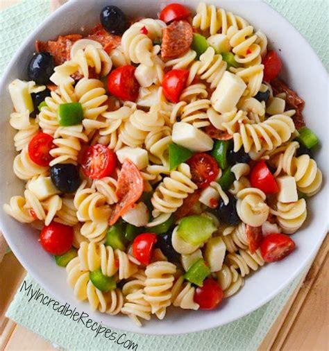pasta salad recipes with italian dressing italian pasta salad