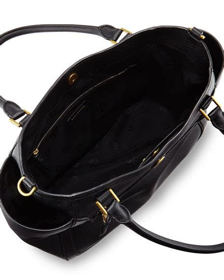 burch frances satchel bag black