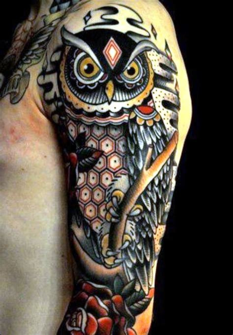 owl tattoos tattoofan