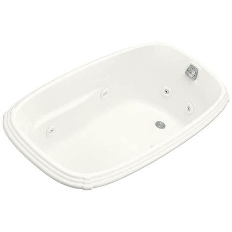 kohler portrait bathtub kohler portrait 5 ft acrylic oval drop in whirlpool
