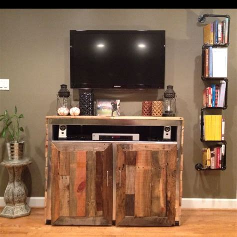 Entertainment Center Ideas Diy by Homemade Entertainment Center And Homemade Bookshelf