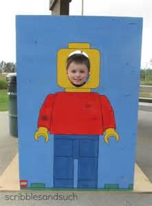 Legos Halloween Costume Diy Lego Man Photo Prop Party Ideas