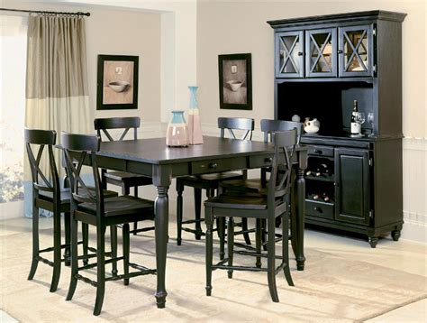 cheap black dining room sets high quality cheap counter height dining sets 5 black