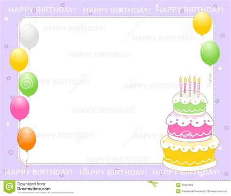Birthday Invitation Card Template Pdf by Birthday Invitation Cards Birthday Invitations