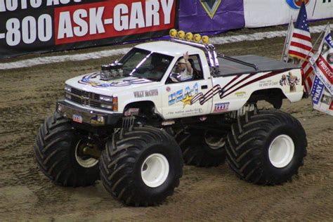 all monster truck videos everett jasmer and usa 1 reinvigorated in the monster