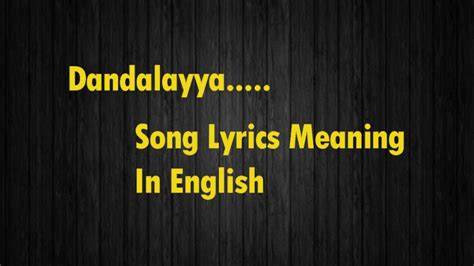 lyrics mp3 dhandalaya song lyrics mp3 7 36 mb ownimusic mp3