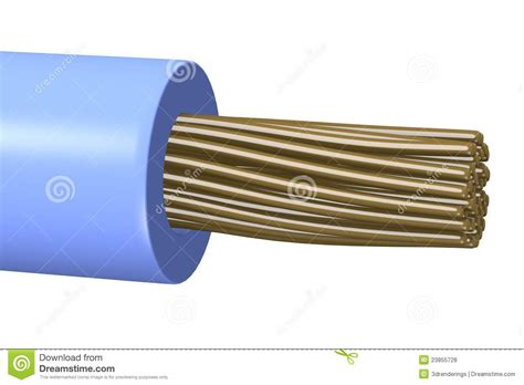 blue wire royalty free stock photos image 23855728