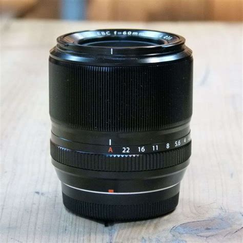 Fujifilm Lens Xf 60mm F2 4 R used fujifilm fujinon xf 60mm f2 4 r macro lens