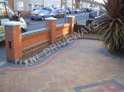 front garden brick wall designs brick garden wall designs gardensdecor
