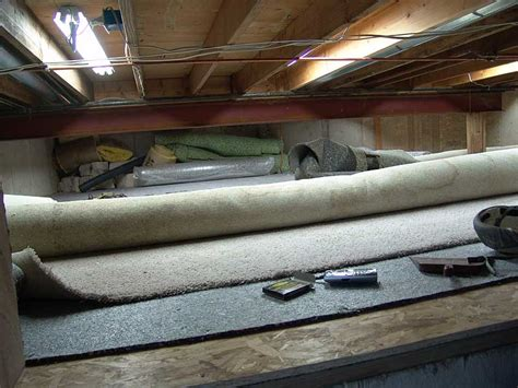 basement carpet padding home design rubber carpet pad for