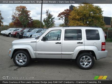 2012 Jeep Liberty Latitude Bright Silver Metallic 2012 Jeep Liberty Latitude 4x4