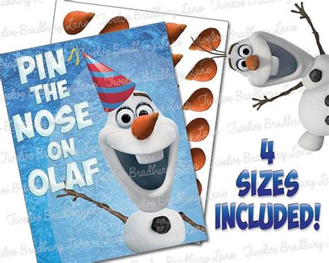 printable olaf game 12 best images about olof on pinterest frozen birthday