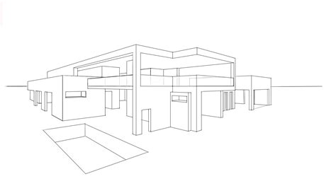 simple house drawing easy potos architecture design 6 drawing a modern house