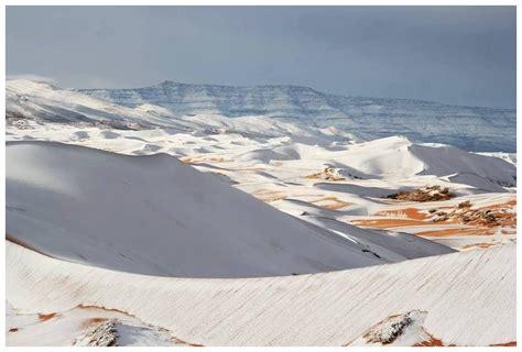 snowfall in sahara desert snowfall over the sahara desert second winter in a row