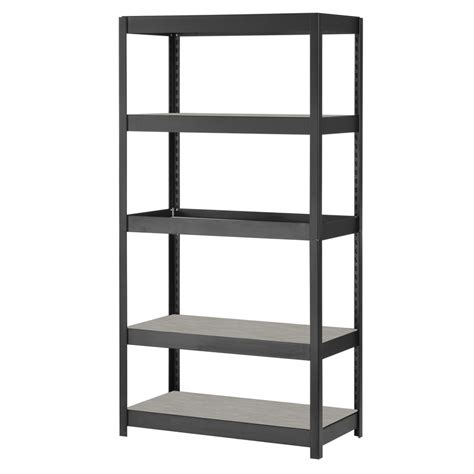 Lowes Metal Storage Racks by Shop Edsal 72 In H X 36 In W X 18 In D 5 Tier Steel