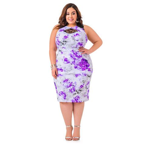 Batik Dress Jumbo Big Size xl 10xl large size lace print midi pencil bodycon sheath dress big size plus size