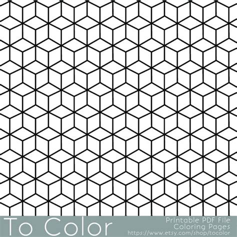 real geometric coloring pages printable coloring pages for adults geometric repeating