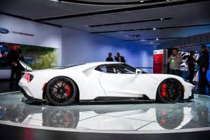 White Ford Gt New Ford Gt In White Is A Sight To Behold