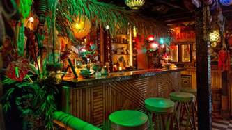 Cheap Beach Wall Murals punch inside la s tiki underground
