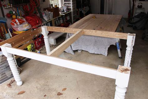diy attach table legs how to build a table