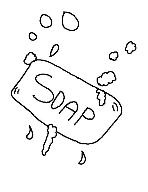 soap coloring dish soap coloring sheet coloring pages