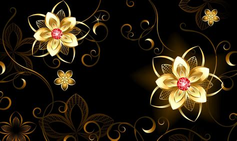 wallpaper flower graphic vector graphics tracery flowers 3d graphics wallpaper